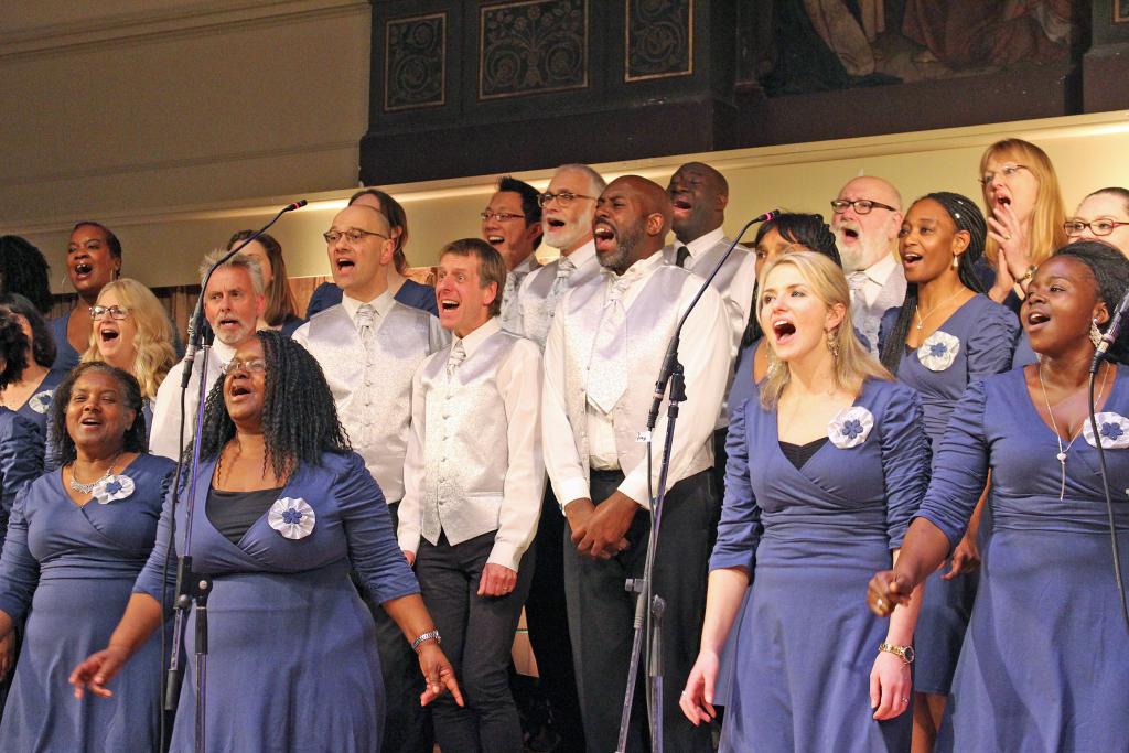 Joyful Joyful, Gospel Goes Festive