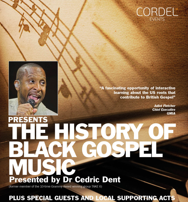 CANCELLED – The History of Gospel Music